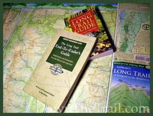 maps and guides of The Long Trail