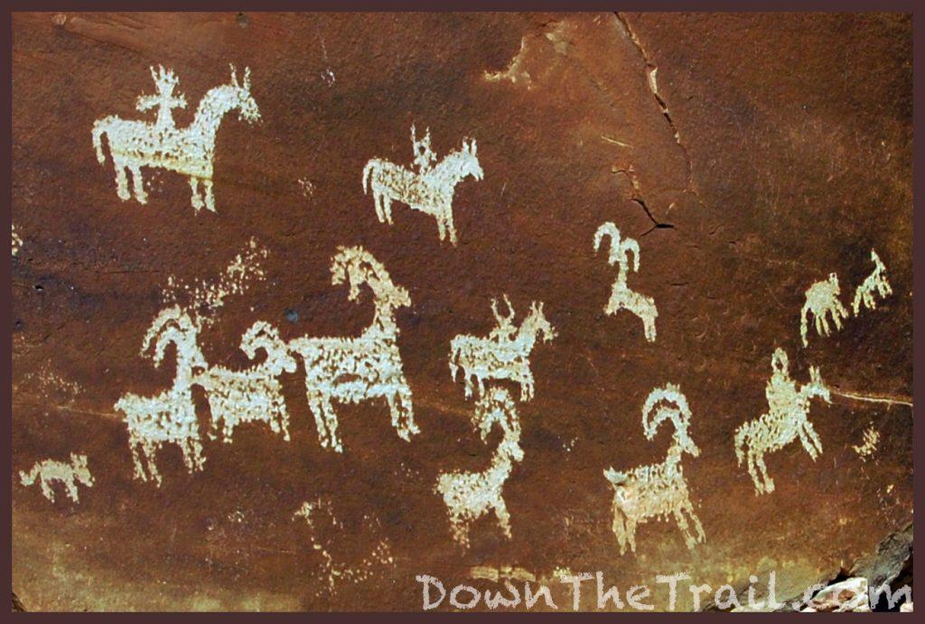 delicate arch petroglyphs