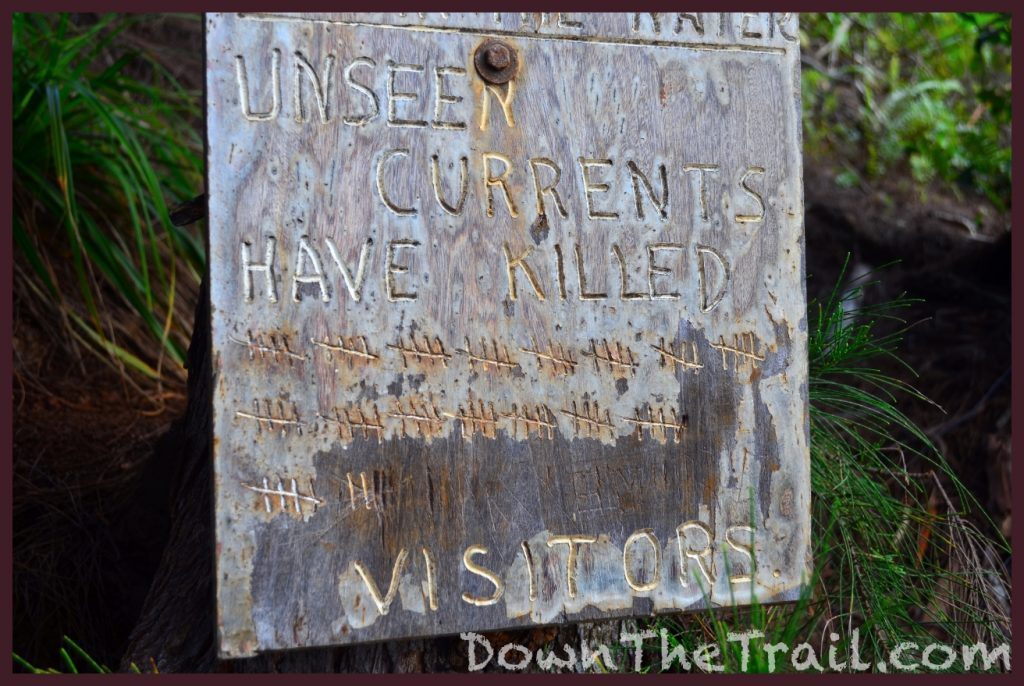 kalalau death toll sign